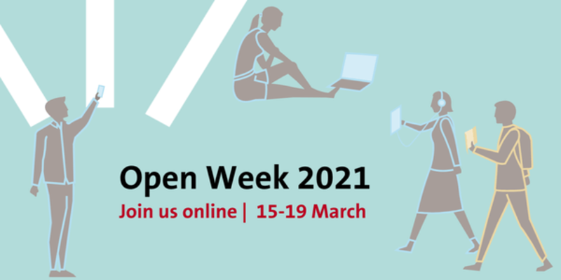 Join us online for our Open Week from 15-19 March