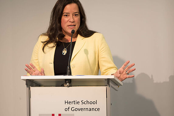 Canadian Justice Minister and Attorney-General Jody Wilson-Raybould